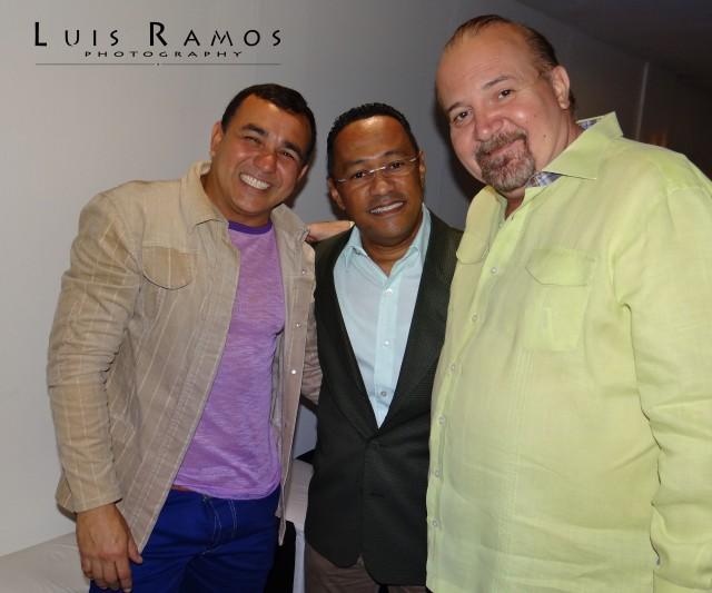 Entre amigos, Luis Ramos, Daniel Loreto y Francois Weffer